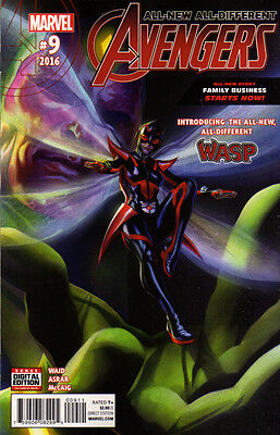 ALL-NEW ALL-DIFFERENT AVENGERS (2015) #9 - Back Issue 1st ALL NEW WASP