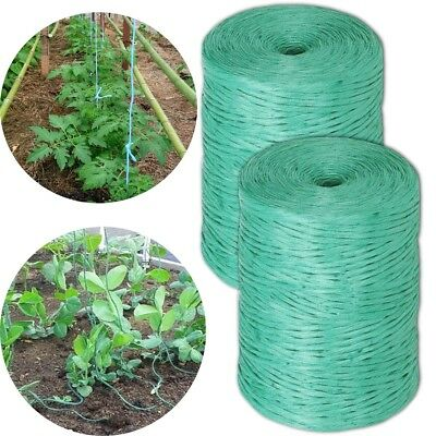 500M Strong GREEN TWINE Household/Garden Weatherproof String Reusable Support