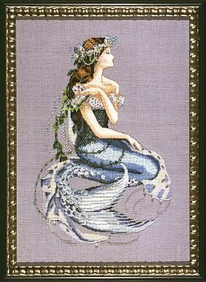 "SALE!  COMPLETE XSTITCH MATERIALS ""ENCHANTED MERMAID"" MD84 by Mirabilia"