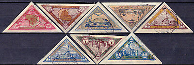 LITHUANIA - C47a - C54a - COMPLETE USED IMPERF. SET - LOOK!