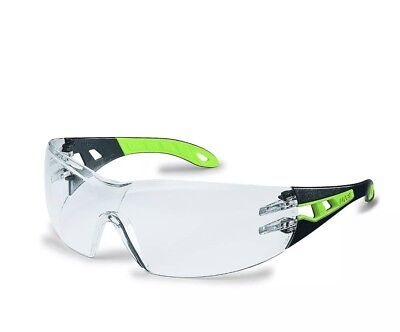 Uvex Pheos 9192-225 Safety Glasses / Anti Mist/fog Spectacles - Clear