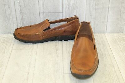 TIMBERLAND SANDSPOINT VENETIAN Slip On Loafer Men's Size 10 Brown