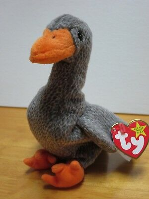 9596853ed41 HONKS THE GOOSE Ty Beanie Baby Retired New 8 Inches -  4.99
