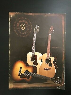 Pre Owned Used Guild Guitars Made To Be Played Magazine Catalog From 2006