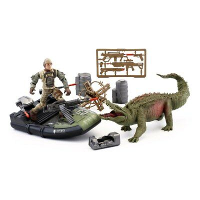 Rampage Movie Canister Contact Lizzie Play Set Action Figures Toy