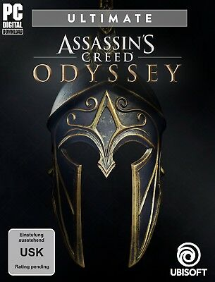 Assassin's Creed Odyssey - Ultimate Edition Pc No Key Code [Email Delivery]