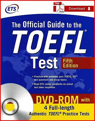 {PDF} The Official Guide to the TOEFL Test with DVD-ROM 5th + Audio Program MP3