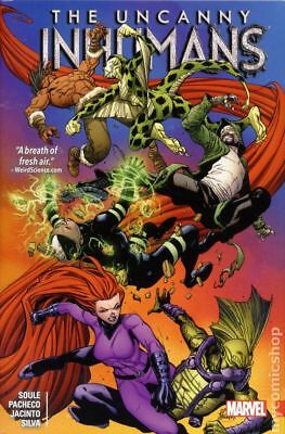 Uncanny Inhumans HC (Marvel) 2-1ST 2017 NM Stock Image