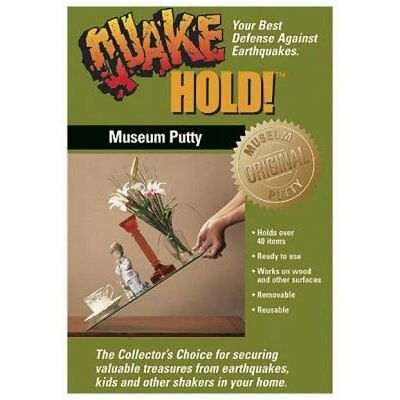 Quake Hold Museum Putty Wax Quakehold Earthquake, The Preferred Museum product f