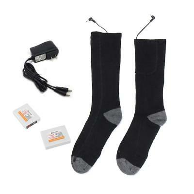 1 Pair Battery Heated Socks For Chronically Cold Feet Foot Warmers Electric New