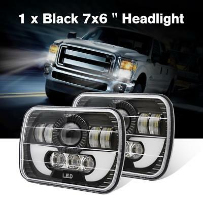 1pcs 7x6'' 120W LED Headlight For 86-95 Jeep Wrangler YJ 84-01 Cherokee XJ