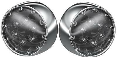 Kuryakyn LED Bullet Turn Signal Conversion Kit Front Chrome Smoke #5443