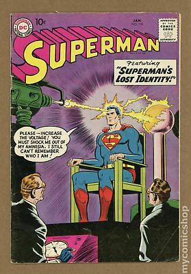 Superman (1st Series) #126 1959 VG- 3.5