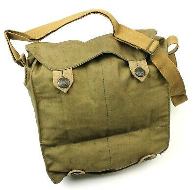 VINTAGE CZECH ARMY m60 GAS MASK BAG DATED 1976/77