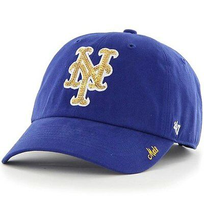 d85da5d0e3e NEW YORK METS Olive Green and Pink Clean Up Women s Dad Hat -  31.99 ...
