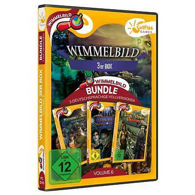 Wimmelbild 3er Box Volume 6 PC Small Town Frankenstein Mysteries NEU&OVP