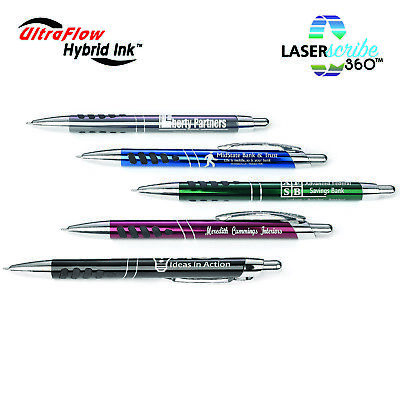 Executive Metal Blue Ink Laser Engraved Gift Pens Promotional Marketing Handouts