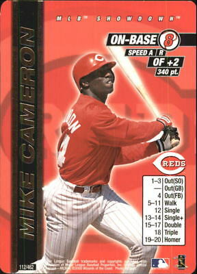 2000 (REDS) MLB Showdown Unlimited #112 Mike Cameron