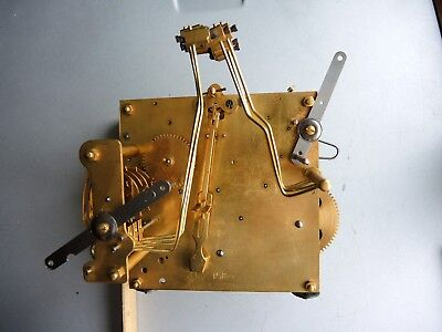 ANTIQUE German Wall Chime Clock MOVEMENT GUSTAV BECKER PARTS Restore JUNGHANS GB