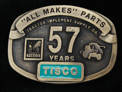 Rc11111 Vintage 1994 **Tisco** Tractor Implement Supply Co. 57 Years Belt Buckle