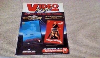 Video For You 1990 James Bond Timothy Dalton Dead Calm Nicole Kidman Shocker Vhs