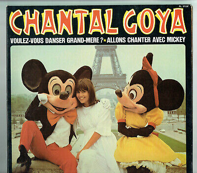 33 tours Chantal GOYA Vinyl-LP VOULEZ VOUS DANSER groß Mutter -Micky -rca 37130