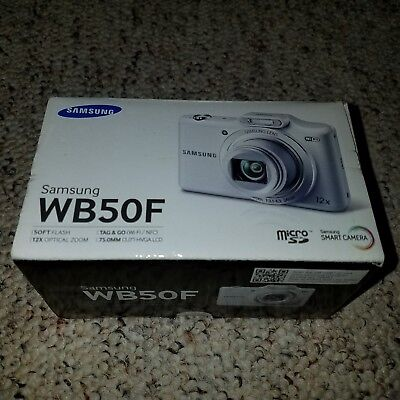 SAMSUNG WB50F SMART Digital Smart Camera w/ 12X Optical Zoom WiFi NFC