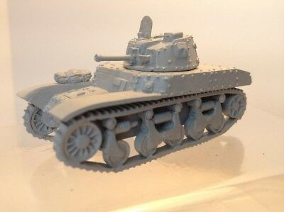 Early War 20mm (1/72) French AMC-35 / Renault ACG-1