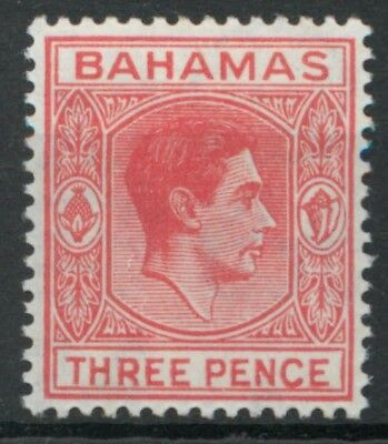 Bahamas 1952 3d scarlet SG 154b MM mounted mint *COMBINED SHIPPING*