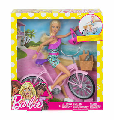 Barbie Doll And Bike Playset EXCLUSIVE