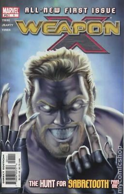 Weapon X (2nd Series) #1 2002 VF Stock Image