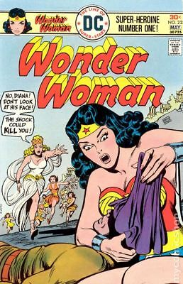 Wonder Woman (1st Series DC) #223 1976 VG- 3.5 Stock Image Low Grade