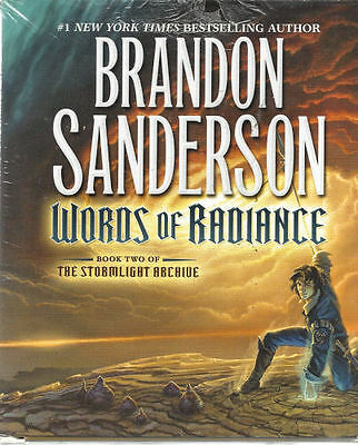 Audio book - Words of Radiance by Brandon Sanderson   -   CD