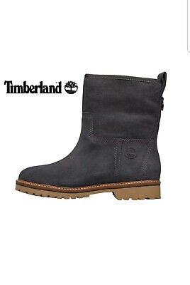 d7090b90fa9 Timberland Womens Chamonix Valley Waterproof Lined Suede Winter Boots Forged  Iro