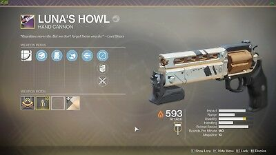 Destiny 2 Lunas Howl Pc - Destiny 2 Lunas Geheul Pc - Account Carry