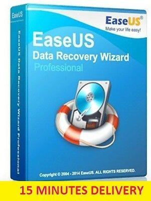 EaseUS Data Recovery Wizard Professional 11.8 LifeTime License