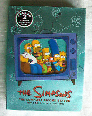 The Simpsons - The Complete Second Season DVD 2002 4-Disc Set