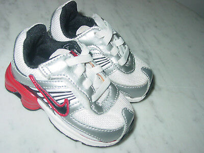 official photos 09372 85fc9 2008 Nike Shox Turbo 8 White Red Black Toddler Shoes! Size 3C