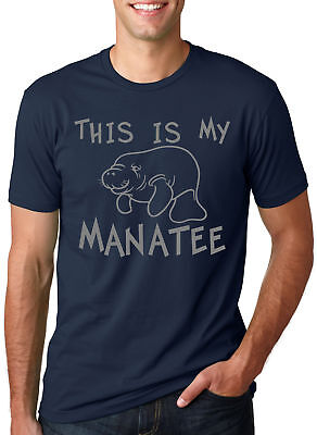 93e3ccc39f5b This Is My Manatee T Shirt Funny Sea Life Shirts Cool Nautical River Ocean  Tee