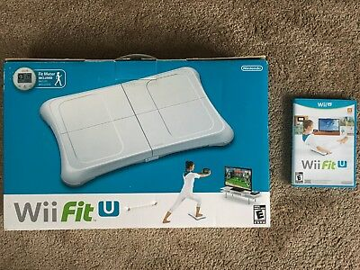 Nintendo Wii Fit U Bundle (Includes Balance Board with Fit Meter and Game)