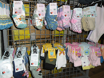 Joblot Kids Baby socks Mega bundle 16000 pairs only 25p for a pair New not China