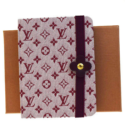 RARE!! Auth LOUIS VUITTON Carnet MM Notebook Cover Monogram Mini R20835 07EB297