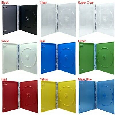 PREMIUM SLIM Slimline Single DVD Cases 7MM (100% New Material)