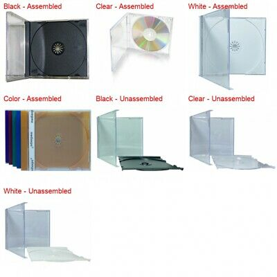 STANDARD CD Jewel Case with Tray 10.4mm
