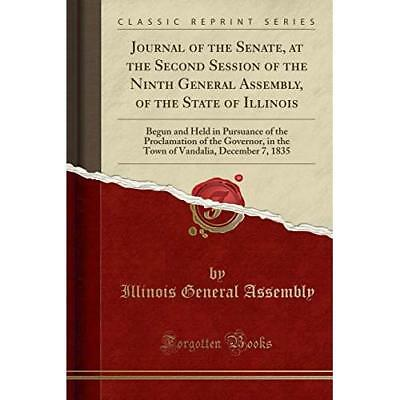 Journal of the Senate, at the Second Session of the Ninth General Assembly, of t