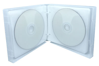 Clear 24 Discs VCD PP Poly Binder Sleeve Cases