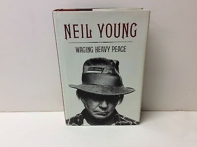 Hardback Book: Neil Young - Waging Heavy Peace = Rock Autobiography - Hard Cover