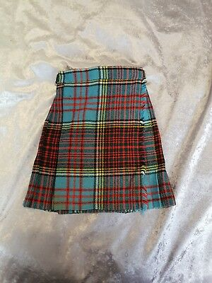 MURRAY BROTHERS SCOTLAND PIRE WOOL KILT AGE 4 VINTAGE 80's CHILDREN
