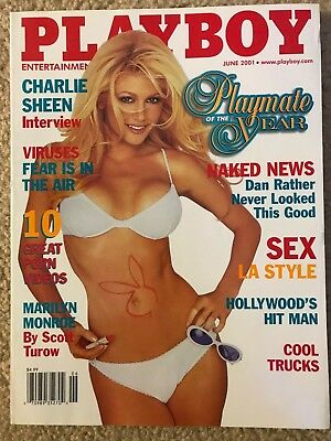 Playboy Playmate of the year /& baywatch Brande Roderick 8x10 from FHM magazine