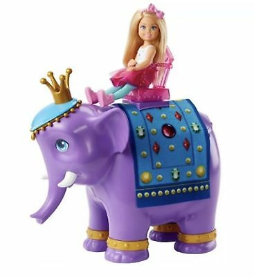 Barbie Dreamtopia Chelsea Doll And Royal Elephant Playset